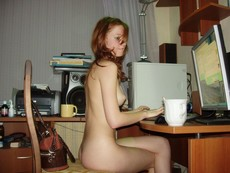 Naked PC amateur babes